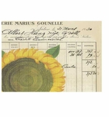 Paper Placemats Sunflower