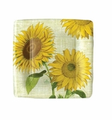 Paper Plates Lunch Sunflower