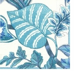 Pierre Frey Dinner Napkins Florida Blue