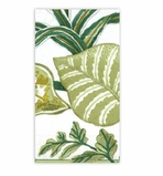 Beach Party Decorations Green Paper Hand Towels 15 Count