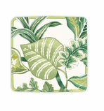 Beach Party Decorations Green Salad Plates 8