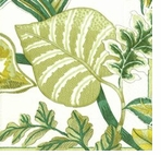 Pierre Frey Lunch Napkins Florida Green