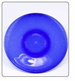 Plastic Dinner Plate - Blue