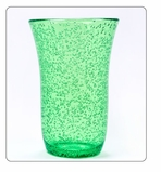 Clear Plastic Cups Green