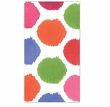 Polka Dot Party Supplies Bebelle Guest Towels