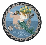 Round Kitchen Rugs Mermaid