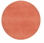 Round Placemats Snakeskin Coral