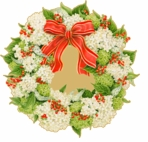 Round Placemats Wreath