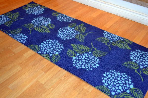 Hydrangea Rug Home Decor