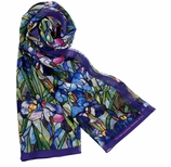 Scarves for Women Iris Chifon