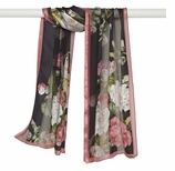 Scarves for Women Roses