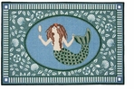 Small Kitchen Rug 30x46 Inch Mermaid