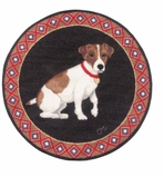 Small Kitchen Rug Jack Russell