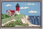 Small Kitchen Rug Nauset Lighthouse