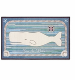 Small Kitchen Rug Whale