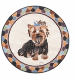 Small Kitchen Rug Yorkie