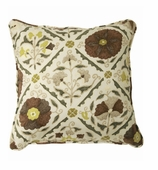 Suzani Pillows Brown