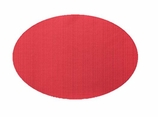 Table Mats Red Oval
