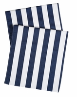 Table Runners Blue Stripe 90""
