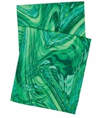 Table Runners Marble Green 90 Inch