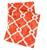 Table Runners Red Coral 72""