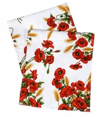 Table Runners Red Poppy 72""