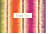 Thank You Cards Stripes