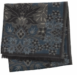 Decorative Throw Blue Floral