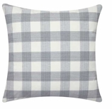 Throw Pillows for Couch Black Gingham