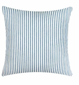 Throw Pillows for Couch Blue Ticking