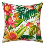 Throw Pillows for Couch Pink Lilly Print