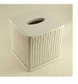 Tissue Box Cover White