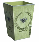 Trash Cans Bee Green