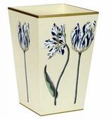 Trash Cans Blue Tulip