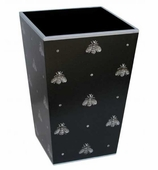 Trash Cans Silver Bee