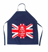 Union Jack Apron Navy