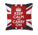 Union Jack Decorative Throw Pillows