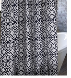 Unique Shower Curtain Block Print