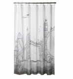 Unique Shower Curtain London