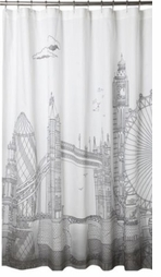 Unique Shower Curtains London