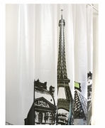 Unique Shower Curtain Paris