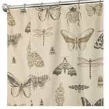 Unique Shower Curtains Bugs 96""