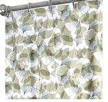 Unique Shower Curtains Ginkgo 96""