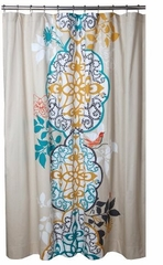Unique Shower Curtains Shangri La