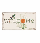 Vanity Tray Welcome 6x12