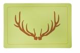 Vinyl Placemats Antlers
