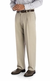 Haggar Work-to-Weekend khakis - pleated