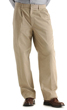 Lee Mens Custom Fit Double Pleat pants - discontinued colors