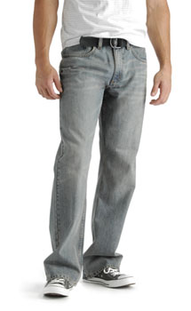 Lee Mens Relaxed Bootcut Belted jeans - discontinued