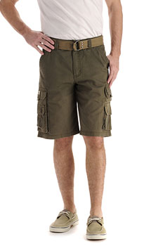 Lee Mens Wyoming Cargo shorts - Jungle